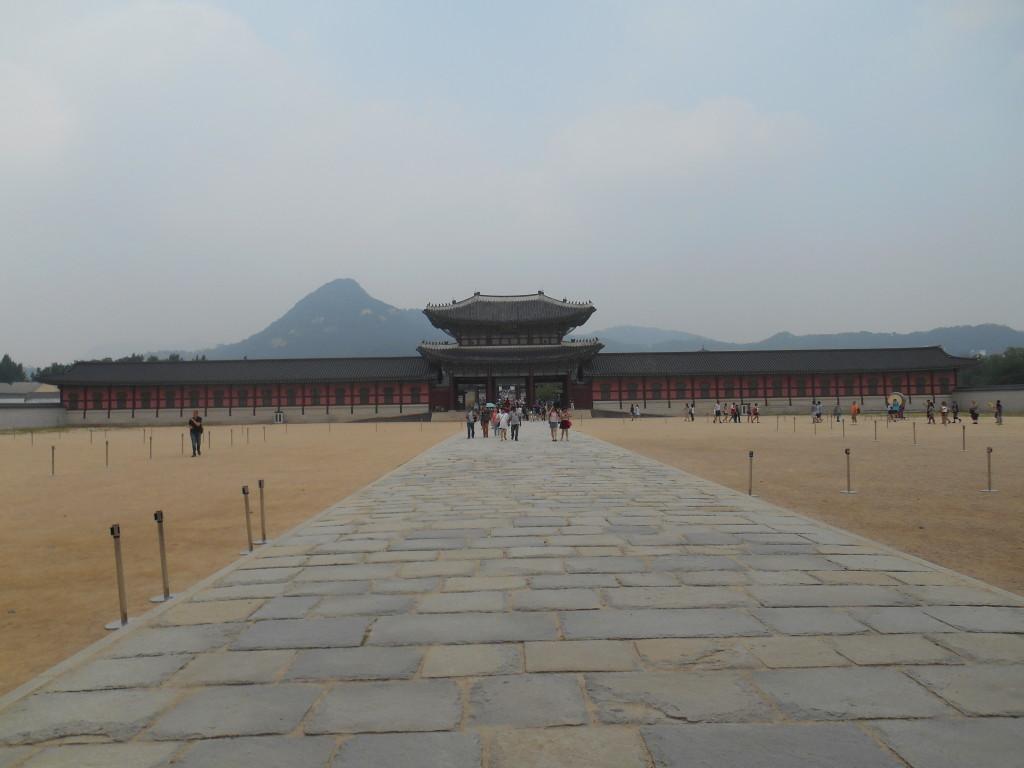 Eerste hof van Gyeongbokgung