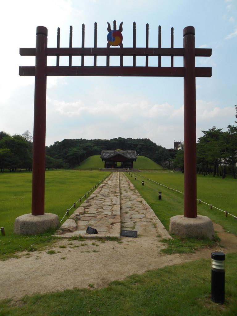 Jeongneung graftombe, in Gangnam